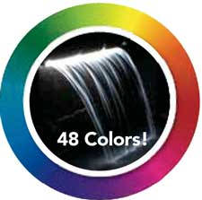 Atlantic Lighted Colorfalls- 24 Inch Color Changing