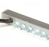 Sheer Descent Waterfall LED Light Strips - White / Blue