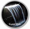 Atlantic Water Gardens Lighted Colorfalls - 12 Inch Crystal White LED