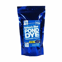 AirMax Pond Logic Pond Dye Nature's Blue Packets - 4 Packets
