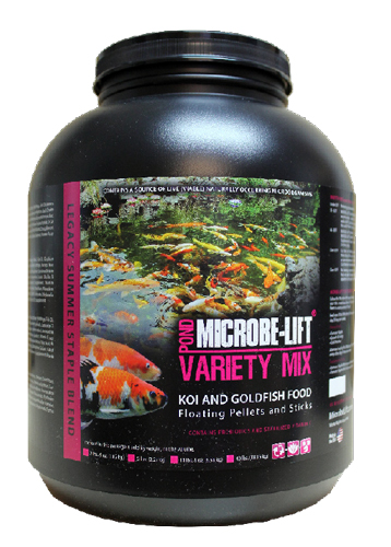 Microbe-Lift Variety Mix Floating Pellets and Sticks - 5 lbs.