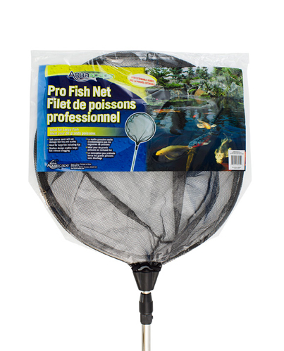 Aquascape Pro Round Fish Net with Extendable Handle - 22