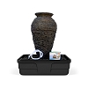 AquaScape Medium Stacked Slate Urn Fountain Kit