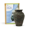 AquaScape Mini Stacked Slate Urn Fountain