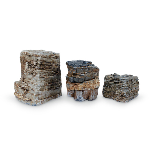 AquaScape Pagoda Fountain Rocks - Set of 3