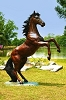 Brass Baron Rearing Stallion (Special Order Only)