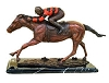 Brass Baron Horse and Jockey (Tabletop)