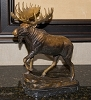 Brass Baron Table Top Moose