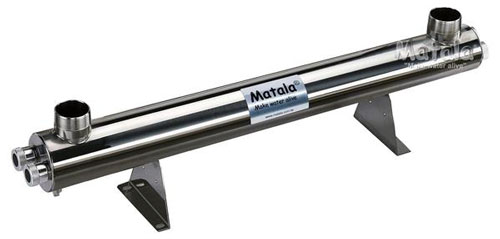 Matala Stainless Steel UV Clarifier - 150 Watts