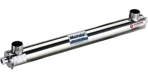 Matala Stainless Steel UV Clarifier - 75 Watts