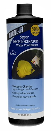 Microbe-Lift Super Dechlorinator Plus - 16 oz.